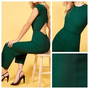 Reformation Pants - NWT Reformation Mayer Green Jumpsuit A140374